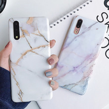 Classic Marble Texture Soft Case Huawei P30 P20 Lite Pro Tempered Glass Mate 20 lite Protective Silicone