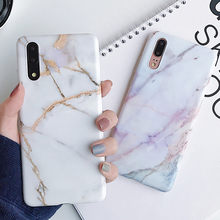 Classic Marble Texture Soft Case for Huawei P30 P20 Lite Pro Case for Huawei Mate 20 lite Pro Protective Silicone Case(China)