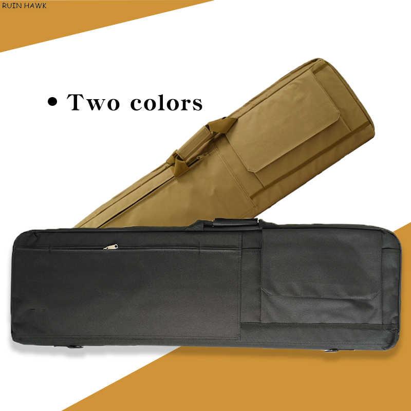 ยุทธวิธีกระเป๋าทหาร Airsoft RIFLE กรณีกีฬากลางแจ้งปืนพกพาไหล่กระเป๋าถุงล่าสัตว์ Army Sniper ปืนป้องกันกรณี
