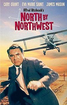 Persolized Home Decoration North by Northwest Film Movie Poster Wall Plaque 8x12 image