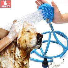 Pet Shower Head Bathing Tool Dog Cleaning Washing Sprayers Bath Sprinkler Dogs Handheld Scrubber Brush Supplies