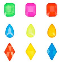 [hJK121]50pcs Nail Rhinestones (neon color )6*8/5.5*8/6*10 mm Electric Neon Glass for nail art- CHOOSE YOUR COLOR