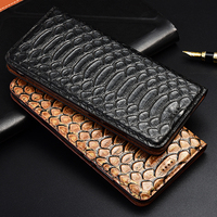 TOP Luxurious Flip Stand Case For Xiaomi Redmi 7A 7 6A 6 5A 5 4A 4X 4 Pro Plus Cover Genuine Cow Leather Phone Case