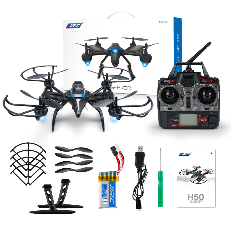 Jjrc H50 Pressure Set High Quadcopter Horizontal Throttle Switch Unmanned Aerial Vehicle Loading Camera Real-Time Transmission