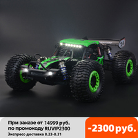 Coche teledirigido ZD-DBX 10 1/10 4WD, vehículo teledirigido de 80 km/h, 2,4G, Motor sin escobillas, coche de carreras todoterreno, desierto, 400m, camión de juguete remoto