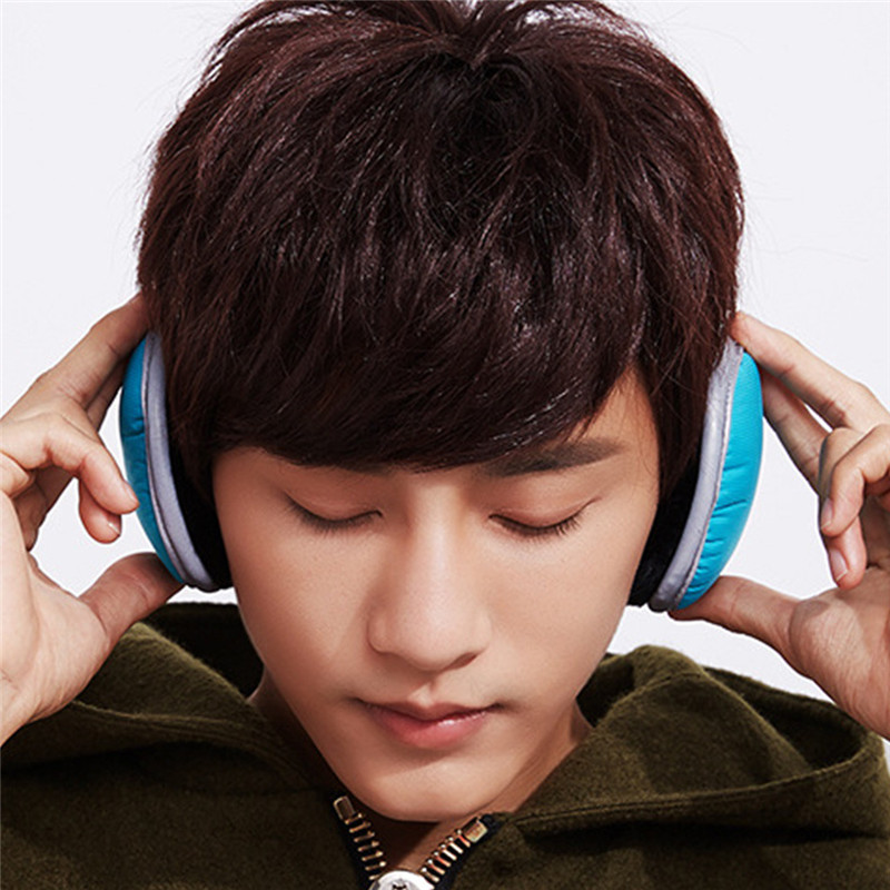 Earmuff Comfortable Unisex Skiing Fur Headphones Unisex Foldable Winter Earmuffs Winter Reflective Ear Warmer Plush Headgear