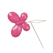 3pcs Butterfly Wire Needle Threader Embroidery Cross