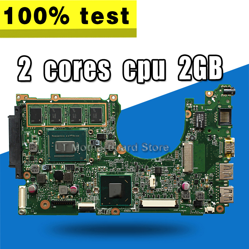 X202E Motherboard 2G For <font><b>ASUS</b></font> <font><b>X201E</b></font> S200E <font><b>Q200E</b></font> Laptop motherboard X202E Mainboard X202E Motherboard test 100% OK image
