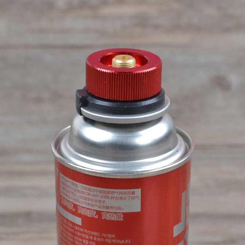 Кемпинг плита адаптер горелки преобразования наружный клапан разъемы газовый адаптер - 2