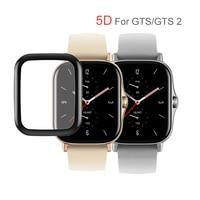 Protector de pantalla 5D para Xiaomi Huami Amazfit, película protectora para relojes inteligentes Xiaomi Huami Amazfit GTS 2 2e mini Bip Pop