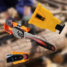 Grinding Chain Chainsaw Teeth Sharpener Chainsaw Portable Durable Easy Power Sharp Bar Mount Fast Grinding Chainsaw Chain Tool