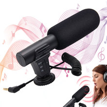 Camera Microphone Professional interview equipment Veksun Video Microphone for DSLR Interview Shotgun Mic for Canon Nikon Sony condenser interview microphone dslr shotgun mic for digital camera canon nikon sony pentax panasonic olympus samsung casio