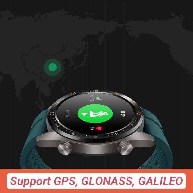 En Stock Version mondiale HUAWEI montre GT montre intelligente 1.39 ''écran AMOLED 14 jours d'autonomie 5ATM étanche traqueur de fréquence cardiaque - 4