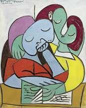 Papabo Picasso – affiche imprimée de Deux Personnages, peintures à l'huile, toile pour décoration de maison, Art mural