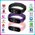 M5 Смарт-часы для мужчин женщин монитор сердечного ритма крови Давление фитнес трекер Smartwatch Band спортивные часы для IOS Android