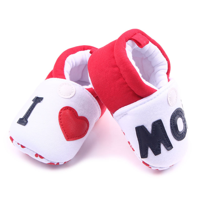 Unisex Baby Shoes Cartoon Animal Newborn Cute First Walker Print Cotton Infant Toddler Baby Boys Girls Soft Sole Indoor Shoes
