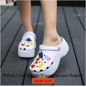 POLALI womens sandals 2020 Summer Sandals Fashion Hollow Out Breathable Beach Slippers Flip Flops EVA Massage Slippers Sandals