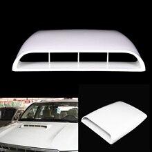 Универсальный автомобилей 4x4 декоративный воздушный поток воздуха воздушного фильтра лопатка Vent Крышка Капота