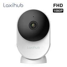 Laxihub 1080P Camera 2.4G & 5G Wifi Indoor Video IP Camera AI Wireless Home Security System Mini Cameras Baby Monitor Webcam