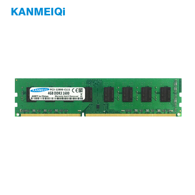 KANMEIQi DDR3 2GB/4GB/8GB 1333mhz/1600MHz Desktop RAM Memory 1