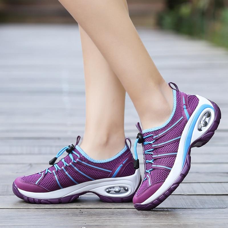 New Women Sneakers Shoes Flats Fashion Casual Walking Woman Breathable Female Sneakers Zapatillas Mujer Feminino