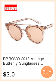 RBROVO 19 Plastic Vintage Luxury Sunglasses Women Candy Color Lens Glasses Classic Retro Outdoor Travel Lentes De Sol Mujer 4