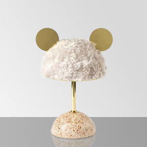 Bedside-Lamp Led-Light Escritorio Creative Warm White And Cartoon Luz Girls Girls