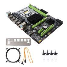 New X58 Motherboard LGA 1366 LGA1366 DDR3 Slot PC Desktop Mainboard Computer Motherboard for ECC ECC REG RAM Server цена 2017