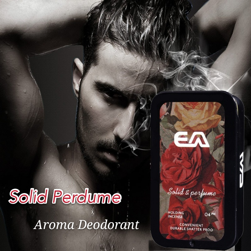 Solid Perdume Men Fragrances Women Portable Case Perfume Staying  attactive Long time Aroma Deodorant Fragrance