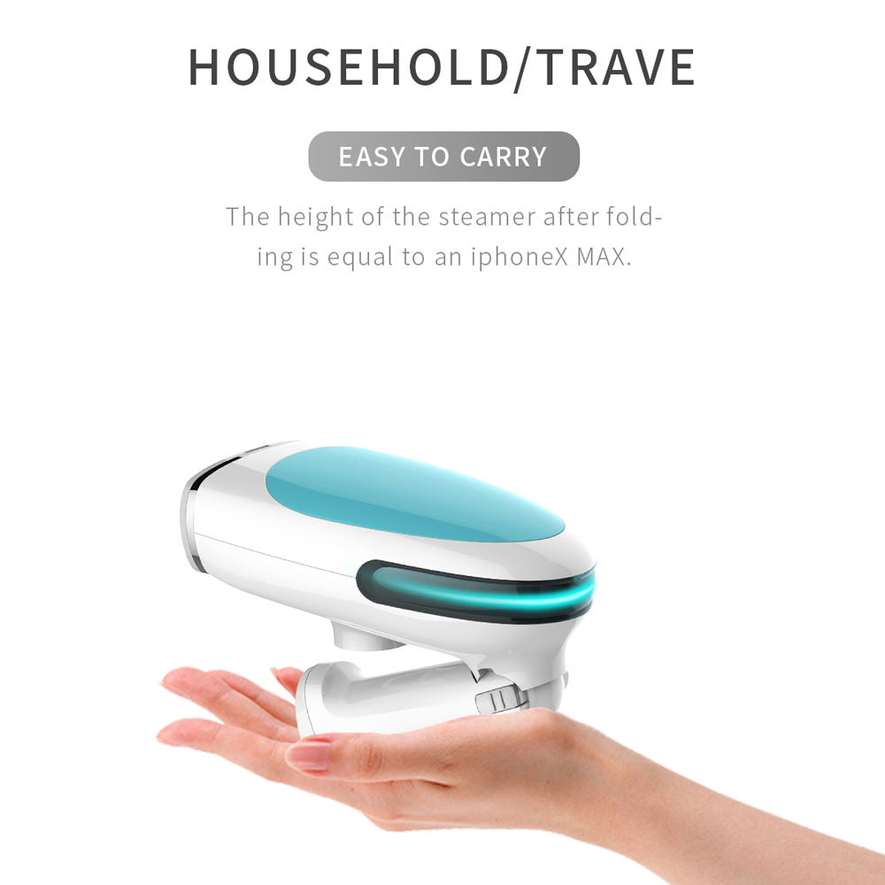 Image 3 - ANIMORE Portable Steamer Travel Household Handheld Ironing Machine Garment Steamer Continuous Spray Home Appliances Steam Iron-in Garment Steamers from Home Appliances