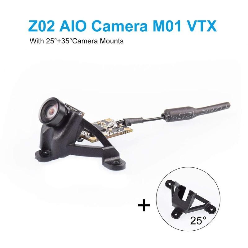 z02 aio camera 5 8 ghz m01 vtx 25 mw transmissor 600tvl ntsc pal com 25