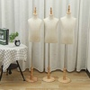 3Size Linen Cloth Well-crafted Dress Cloth Mannequin Demountable Support Child Mannequin Model Stand for Tailors Garment Display