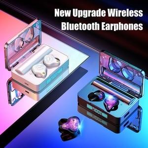 Image 3 - TWS Bluetooth Earphones 5.0 Sport Wireless Headphones Headset Blutooth Earphone Led Display Earbuds With 3600 mAh Charging Box