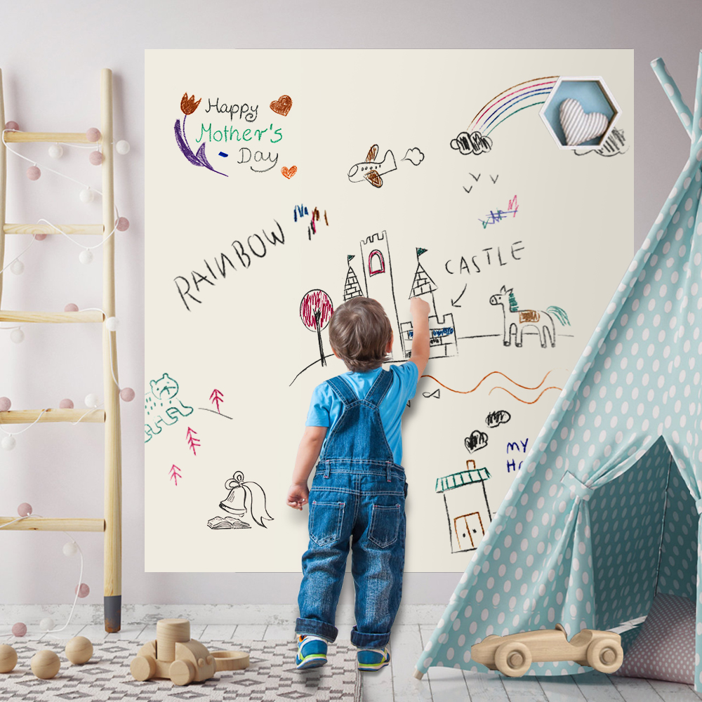 multi funcao pintura graffiti chalkboard brinquedos desenho magnetico escrita placa de decoracao para casa para criancas