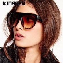 Brand 2020 Cat Eye Sunglasses Women Gradient Lens Black Leop