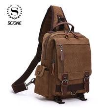 Scione New Fashion  Canvas Women Shoulder Bag 2020 Women Unisex Travel Bags Large Capacity Travel Laptop Bag