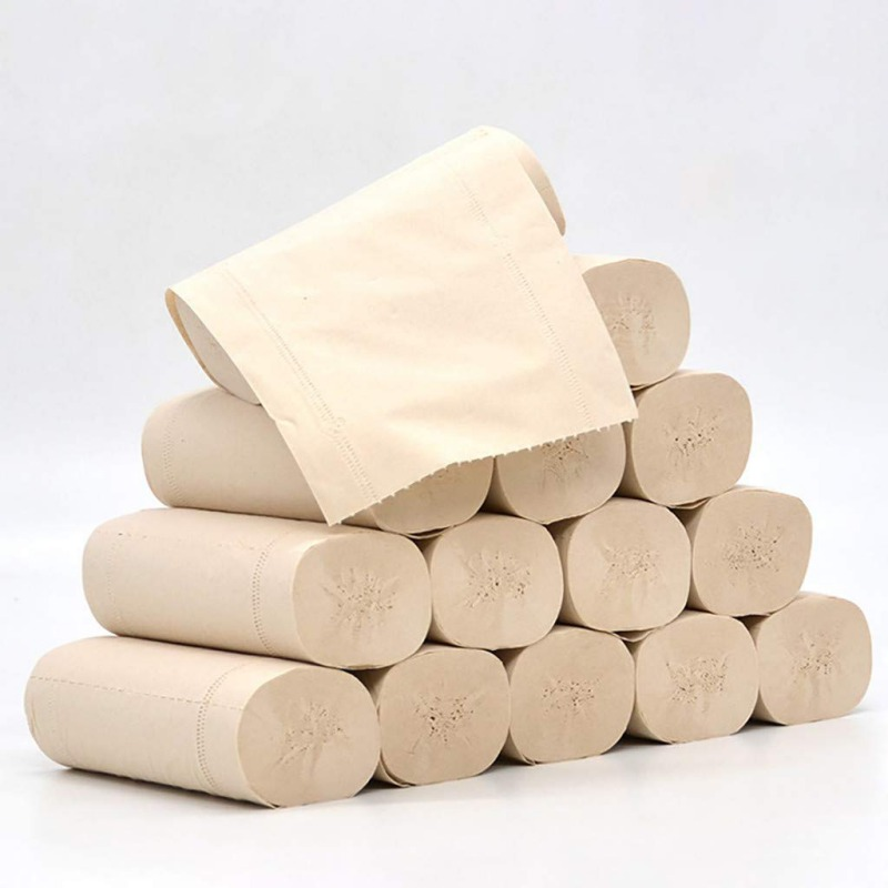 14PCS Portable Facial Tissue Toilet Paper Disposable Health Cotton Roll Paper Face Cleaning Paper Towel Tissue