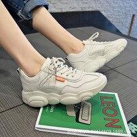 Bear xie/Женская обувь; коллекция 2019 года; сезон весна; новый стиль; корейский стиль; универсальная спортивная обувь для студентов; Ulzzang Forest Gump ...