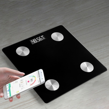 Body Fat Scale Smart BMI Scale LCD Digital Bathroom Wireless Weight Scale Balance Bluetooth APP Android IOS