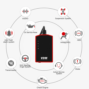 Image 5 - UCANDAS VDM OBD2 Code Reader Full System Wireless Diagnostic Tools for car support Wins Andriod V5.2 Lifetime Free Update Online