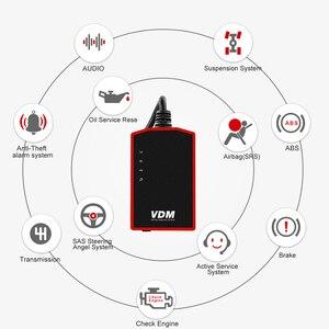 Image 5 - UCANDAS VDM OBD2 رمز القارئ نظام كامل أدوات التشخيص اللاسلكية للسيارة دعم win Andriod V5.2 مدى الحياة تحديث مجاني على الانترنت