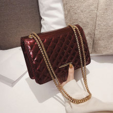 plaid trend chain phone female crossbody bag luxury handbags
