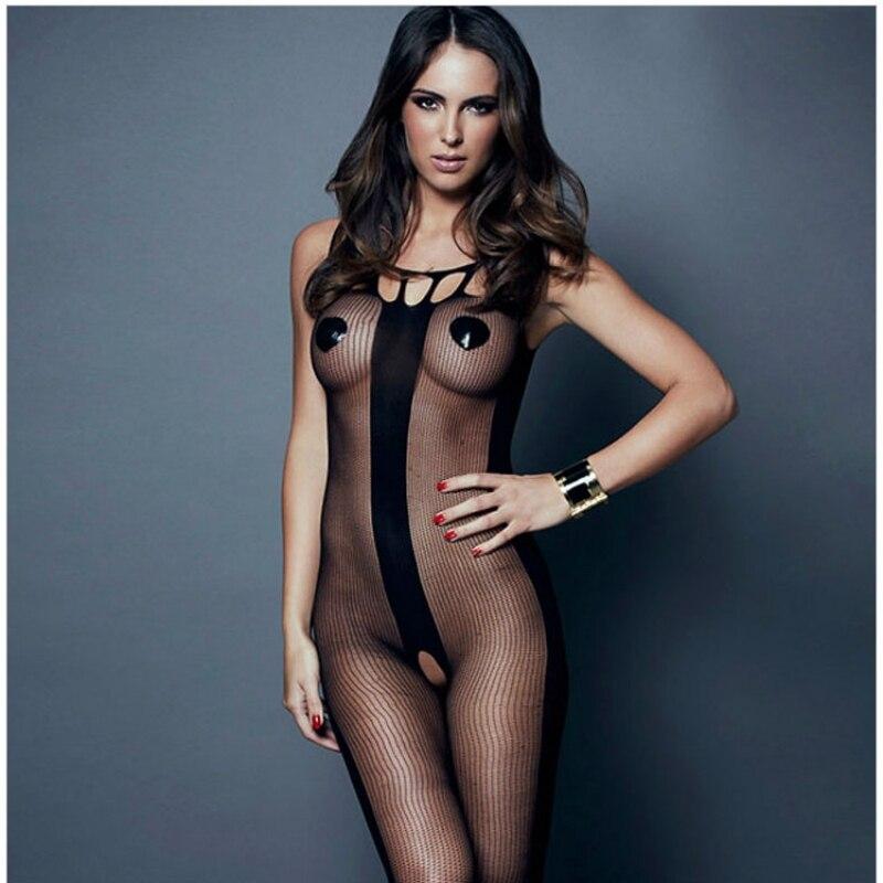 Sexy Ouvert Weibliche Body Frau Transparent Strumpfhosen Bodystocking Öffnen Gabelung Fishnet Sehen Durch Exotische Net Dessous