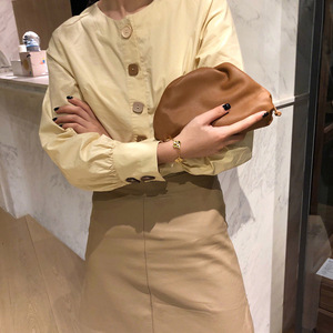Image 5 - сумка женская lady dump genuine leather bag for women luxury handbags women bags designer crossbody shoulder tote bag