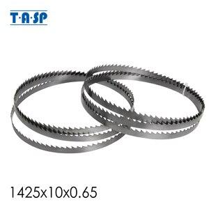 TASP 2pcs Bandsaw Blade 1425(56'')x10x0.65mm 6 TPI Teeth Band Saw Blade for Draper Nutool Delta FOX Silverline Skip