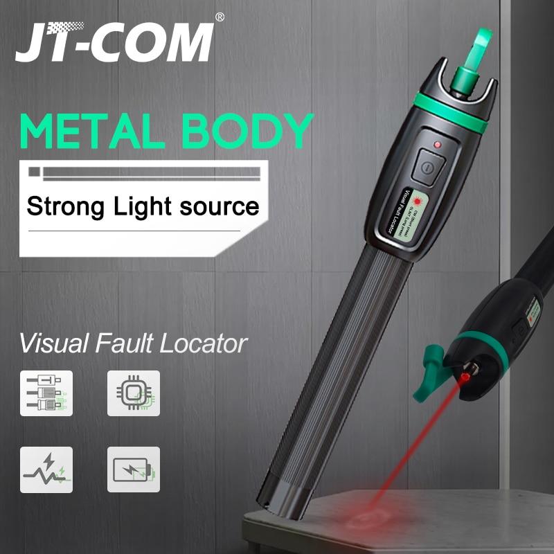 30km Pen Type Red Light Source T11P Visual Fault Locator Fiber Optic Cable Tester Fiber Optic Tool  VFL Fiber Fault Locator