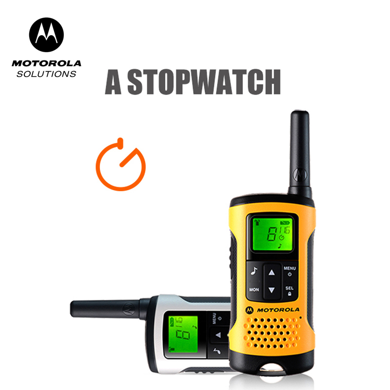 Motorola Tlkr T50 Walkie Talkie Met 20 Kanalen 6Km Afstand Outdoor Walkie Talkie Ondersteuning Ni-Mh Batterij & Aaa Batterij
