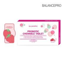 Gorąca sprzedaż! Balancepro Strawberry Fruit Powder probiotyki cukierki do żucia wsparcie trawienne, aby utrzymać zdrowe ciało odchudzanie