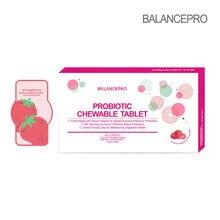 Sıcak satış! Çilek meyve tozu probiyotikler şeker çiğneme Tablet sindirim destek bağışıklık artırmak tutmak vücut sağlığı