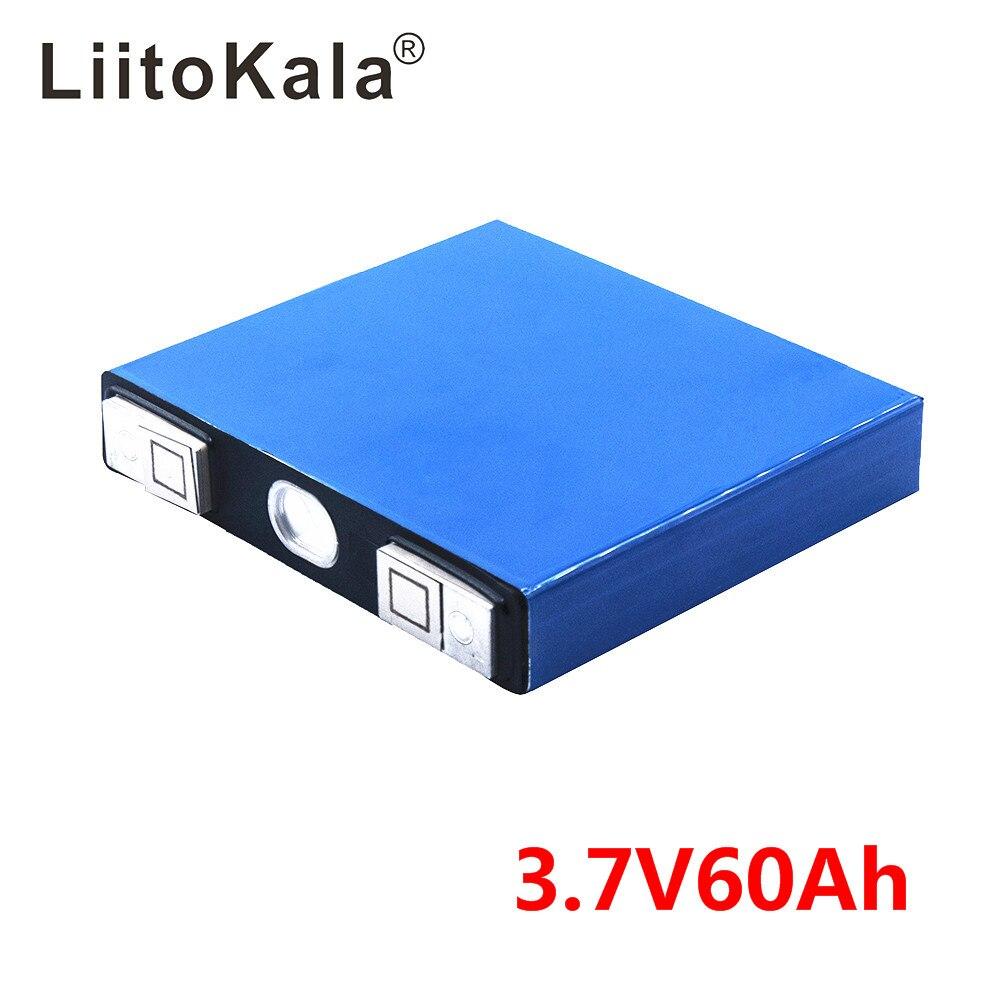 LiitoKal 3,7 v 60Ah литий ионный аккумулятор большой емкости литий полимерный аккумулятор 3,7 v для инвалидная коляска с электрическим двигателем батарейный блок Diy ebike|Перезаряжаемые батареи|   | АлиЭкспресс